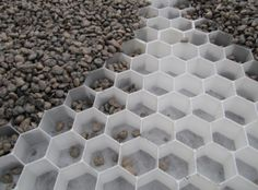 We can create a walkway at the side of the garden using pavers like these, to ease wheelbarrows etc going over it.
