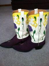 $1,200 LUCCHESE Classics 8 B stingray CUSTOM WESTERN COWGIRL COWBOY boots L7005