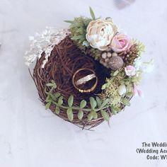 Wedding Ring Holdernest Ring Holderbridal Ring Holder Wedding Ringwedding Accessories Ring Hold on Luulla Iphone Holder, Cell Phone Holder, Ring Holder Wedding, Diy Crafts To Do, Ring Stand, Ring Pillow, Ring Bearer, Flower Boxes, Grapevine Wreath