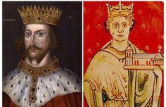 리처드 1세 : 아버지 헨리 2세(왼쪽)와 동생 존. 존은 리처드 1세의 뒤를 이어 왕위를 계승했다. 중세 무훈담의 단골 주인공이며 소설이나 영화에도 자주 등장하는 용맹스런 전사(戰士)이자 지휘관. 사자왕 리처드로 널리 알려져 있는 영국 국왕 리처드 1세다. 십자군 측의 전설적 영웅으로 오랜 세월 회자되어 온 그는 그러나 나라를 다스리는 군주로서는 별다른 능력이나 치적을 보여주지 못했다.