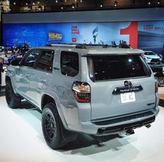 2017 Toyota 4Runner TRD Pro - new color Cement