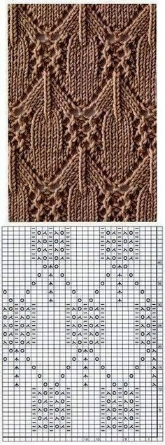 Irina: Knitting Stitches Gallery (needles) Source by . Irina: Knitting Stitches Gallery (needles) Source by Seidenliebhaber Lace Knitting Stitches, Lace Knitting Patterns, Knitting Blogs, Knitting Charts, Lace Patterns, Knitting Needles, Stitch Patterns, Knitting Projects, Knitting Machine