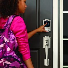 Stop worrying about getting locked out or kids arriving home safely. Here are 5 reasons why keyless electronic locks are perfect for your busy family.