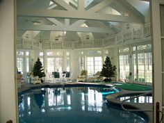 Indoor Swimming Pool Design Ideas For Your Home – 30 Photos