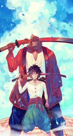 The Boy and the Beast #Kumatetsu #Kyuta (by SHIHOU)