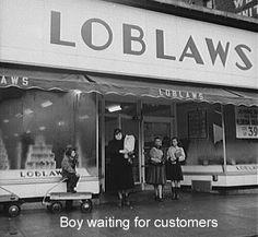 Loblaws on Grant Street Buffalo NY. Year?
