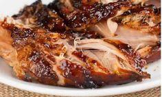 4 Well Recipes |   Crockpot Brown Sugar Balsamic Glazed Pork Tenderloin