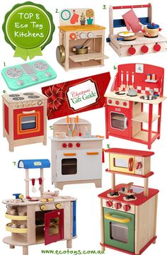 Find the best gender neutral and eco friendly  play kitchen's online at Eco Toys.