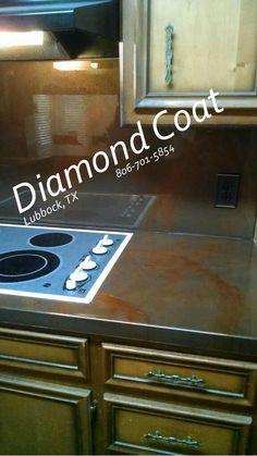 #countertops #diamondcoat