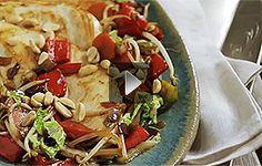 Receita: filé de frango grelhado à moda oriental