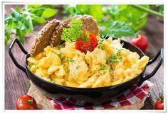 DELIKATNA JAJECZNICA a'la GORDON RAMSAY ~ MOJA KSIAZKA KUCHARSKA Gordon Ramsay, Feta, Cornbread, Risotto, Potato Salad, Macaroni And Cheese, Low Carb, Breakfast, Ethnic Recipes