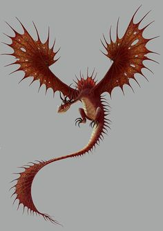Monstrous Nightmare My favourite of the HTTYD dragons. Fantasy Creatures, Mythical Creatures, Httyd Dragons, Beautiful Dragon, Dragon Rider, Film D'animation, Wings Of Fire, Dreamworks Animation, Night Fury