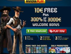 Riviera Play Casino   Welcome No Deposit and Match Bonuses