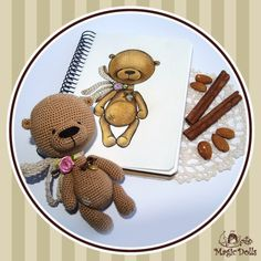 Almond Teddy Bear (for example, для примера)