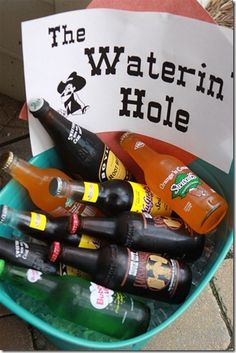 I live in Sioux City and love that I can use the old western themed Sioux City sodas for my cowboy's party.