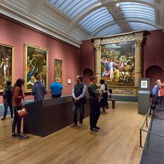There's still time to visit our groundbreaking exhibition #MichelangeloSebastiano, closing on 25 June. Don't miss out and book your tickets via the link in our bio.  Featured in the exhibition is our painting 'The Raising of Lazarus', created by Sebastiano after partial designs by Michelangelo. The painting has been given a new frame for the exhibition, constructed by our Framing Department. The frame is entirely based on, and in part made from, authentic 16th-century elements.  The plinth…