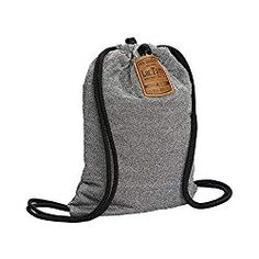LOCTOTE Flak Sack - The Original Theft-Resistant Drawstring Backpack Anti-theft Theft-Proof Travel Backpack Lockable Slash-Resistant Sling Backpack, Drawstring Backpack, Backpack 2017, Backpack Brands, Laptop Backpack, Pocket Craft, Best Travel Backpack, Hippies, Viajes