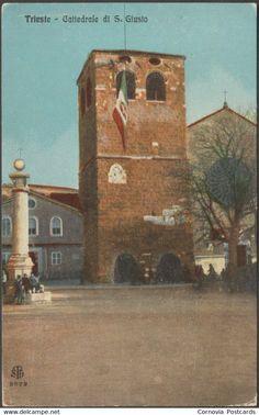 Trieste - Cattedrale di San Giusto, Trieste, c.1910s - Alterocca Cartolina