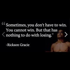 Very true. I didn't win my fight, but I sure as heck didn't lose.