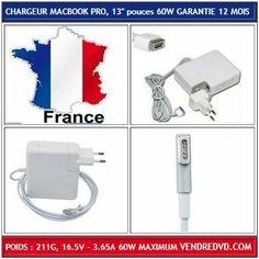 Chargeur compatible Magsafe 60W pour Ordinateurs Portables APPLE MACBOOK