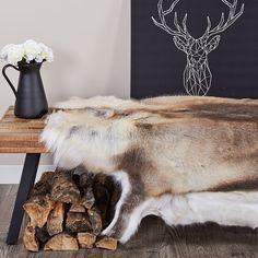 Reindeer Hide Rug – Rug making Cost Of Laminate Flooring, Cow Rug, Cow Skin Rug, Cowhide Decor, Viking Decor, Bear Rug, Deer Hide, Decoration Inspiration, Sculptures