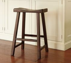 $99 Tibetan Stool | Medium | Mahogany stain