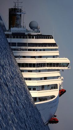 Costa Concordia - All about the angle...