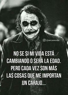 Joker Frases, Joker Quotes, Smart Quotes, Sarcastic Quotes, Cute Spanish Quotes, Ex Amor, Christian Messages, Proverbs Quotes, Real Life Quotes