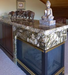 Accent Countertops specializes in kitchen and bathroom remodels. Check out our previous work and get design inspiration. Custom Countertops, Granite Countertops, Granite Fireplace, Kitchen And Bath Remodeling, Fireplace Surrounds, Park City, Entryway Tables, Carnival, Design Inspiration
