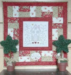 A Christmas Welcome - by Gail Pan Designs - Quilting Pattern