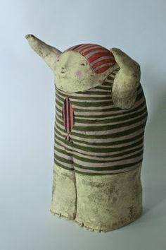 Anne-Sophie Gilloen: sculpture - Hobbies paining body for kids and adult Porcelain Ceramics, Ceramic Art, Cold Porcelain, Ceramic Figures, Clay Figures, William Eggleston, Art Du Monde, Anne Sophie, Gifts For An Artist