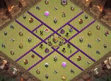 KP TH 7 Clash of Clans Base Layout