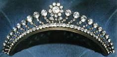 Marie Poutine's Jewels & Royals: Petite Diamond Tiaras, Part I Royal Crowns, Royal Tiaras, Tiaras And Crowns, Crown Royal, Diamond Tiara, Diamond Jewelry, Poutine, Royal Jewelry, Circlet
