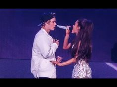 FULL Ariana Grande and Justin Bieber Love Me Harder LIVE Miami 2015