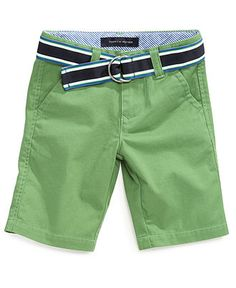 Tommy Hilfiger Kids Shorts, Little Boys Chester Chino Shorts - Kids Tommy Hilfiger - Macy's