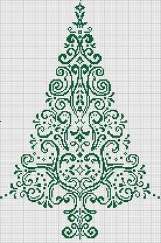 cross stitch tree