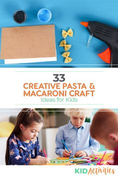 A collection of fun pasta themed art and craft ideas for kids in the classroom. A great way to encourage creativity. Special Education Activities, Fun Classroom Activities, Classroom Projects, Craft Activities For Kids, Classroom Ideas, Crafts For Kids, Craft Ideas, Macaroni Crafts, Pasta Crafts