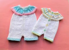 Marianna's Lazy Daisy Days: Top Down All-in-One Romper Suits Baby Romper Pattern Free, Onesie Pattern, Baby Cardigan Knitting Pattern Free, Baby Boy Knitting Patterns, Baby Sweater Patterns, Knit Baby Sweaters, Baby Hats Knitting, Baby Patterns, Suit Pattern