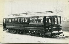 "Buffalo N Y ""Elmlawn"" Funeral Car of International Railway Co"