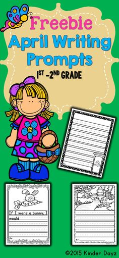 Writing Free: April Writing:This No Prep Writing packet contains many small writing activities all centered around the Easter and Earth Day. Great for primary writers K-2nd grade! Contents include: * 1 April Writing Activities * 1 Free Writing Prompt Sheets * 1 Sheets of Spring Writing Paper