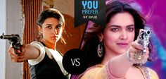 It's the battle between the best! The fearless Zoya from Ishaqzaade. Or the feisty Leela from Ram-Leela. #YouPrefer