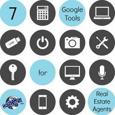 7 Google Tools for #Realtors : http://www.blog.househuntnetwork.com/google-tools-for-real-estate-agents/