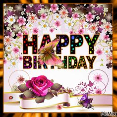 Birth Day QUOTATION Image : Quotes about Birthday Description Butterfly Birthday Animated Gif Pictures Photos and . Happy Birthday Sparkle, Birthday Greetings For Facebook, Happy Birthday Greetings Friends, Happy Birthday Wishes Photos, Happy Birthday Frame, Happy Birthday Cake Images, Happy Birthday Wishes Images, Happy Birthday Celebration, Birthday Wishes Cards