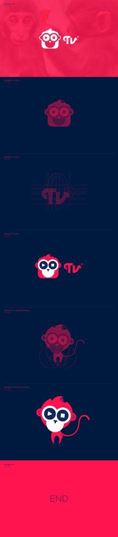 MONKEY TV on Behance