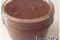 pate a tartiner façon nutella | Cooking Chef de KENWOOD - Espace recettes Actifry, Weekday Meals, Chef Recipes, Delish, Peanut Butter, Sweet Tooth, Pudding, Homemade, Kenwood Cooking