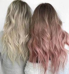 Mar 2020 - Prom Hairstyles Straight Half Up is part of Try Half Up Half Down Prom Hairstyles Lovehairstyles Com 60 Fresh Spring Hair Colors For The REAL Fashionistas Ecemella - Pink Blonde Hair, Pastel Pink Hair, Pink Ombre Hair, Blonde Brunette, Rose Pink Hair, Light Pink Hair, Spring Hairstyles, Cool Hairstyles, Cabelo Rose Gold
