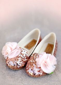 *New* Rosie Loafer in Sequins would be perfect for her to wear with her first birthday dress!!