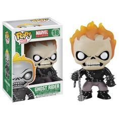 Get the Ghost Rider as an adorable stylized Pop! The Ghost Rider Marvel Pop! Vinyl Bobble Head features the most Funko Pop Marvel, Marvel Pop Vinyl, Marvel Comics, Marvel Art, Dark Phoenix, Phoenix Hair, Hades, Pop Bobble Heads, Deadpool