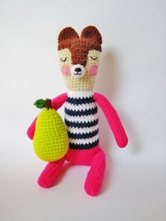 @lastejeymaneje shared a love for these adorable amigurumi animals from Etsy's P-Fang