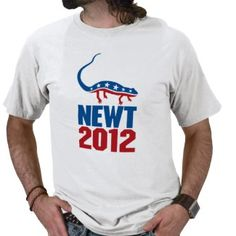 Newt Gingrich 2012 T Shirts